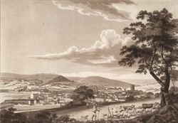 A south-west view of the City of Bath